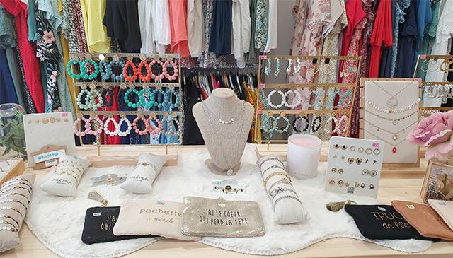 Boutique d'accessoires de mode à Carvin